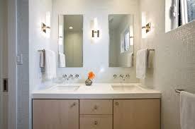 Winter Cloud Marble Contemporary Toronto With Mirrored Standard - Bathroom designers toronto