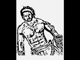 how to draw bahubali 2 prabha sketch pencil drawing step by step