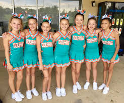 Cheerleader Flags Dolphinsvarsity2016 Jpg