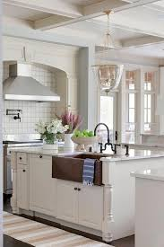 blue kitchen cabinets with copper hardware white kitchen cabinets with copper hardware design ideas