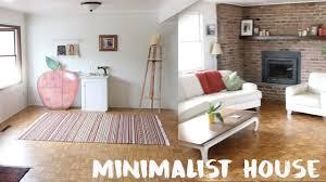 minimalist house tour youtube
