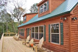 Modular Dormers Deluxe Mountaineer Log Cabin Home Pennsylvania Maryland And West