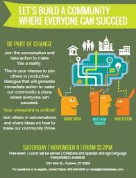 example of a flyer for an event save and edit flyer templates everyday democracy