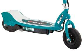 amazon com razor e200 electric scooter teal sports u0026 outdoors