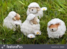 Spring Decoration by Photo Of Easter Or Spring Decoration Sheep In Grass