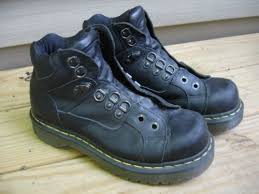 womens walking boots ebay uk ebay dr martens doc bex black work ankle hiking boot 8699 mens