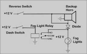 car reverse horn circuit diagram wiring diagram simonand
