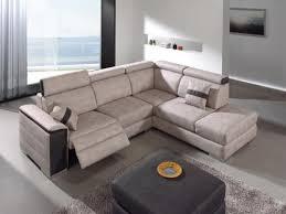 canapé d angle tissu canapé d angle tissu avec relax électrique avec coussins déco