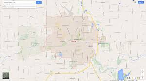 Indiana University Map Muncie Indiana Map