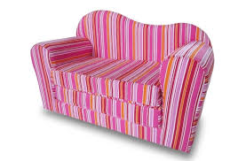 Fold Out Foam Sofa Bed by Furniture Intriguing Pink Kids Sofa Bed And Pink Stripes Sofa Bed