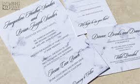wedding invitation set marble wedding invitation set my big day designs
