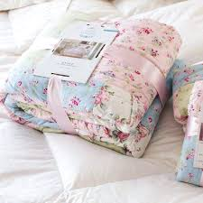simply shabby chic ditsy patchwork quilt shabby chic quilt