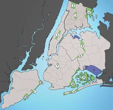 New York Map With Cities by List Of New York City Parks Wikipedia