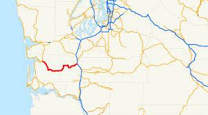 Aberdeen Washington Map by Washington State Route 6 Wikipedia