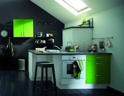 chambre noir et vert idée cuisine noir et vert pomme