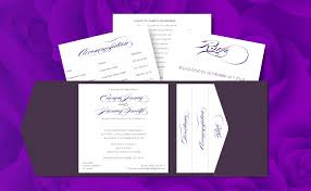 Wedding Invitations Galway Pocket Fold Invite With 3 Inserts Dpsprint Ie