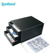 Hanging Desk Drawer Organizer File Cabinet Drawer Organizer Desk Drawer Organizer Tray 3 Drawer