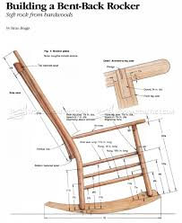 Free Patio Rocking Chair Plans by Build A Rocking Chair Design Home U0026 Interior Design