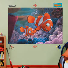 fathead disney finding nemo wall decal wayfair disney finding nemo wall decal