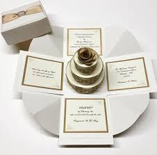 wedding invitations in a box exploding box wedding invitation exploding boxes exploding box