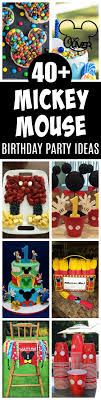 mickey mouse birthday party ideas 40 mickey mouse party ideas mickey s clubhouse pretty my party