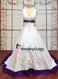 purple wedding dress liana halter neck satin embroidery purple wedding dress