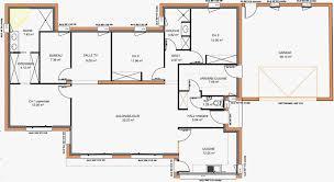 plan de maison 6 chambres plan de maison de plain pied gratuit source d inspiration plan