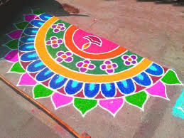 award winning rangoli designs for diwali with diya u0026 flower themes