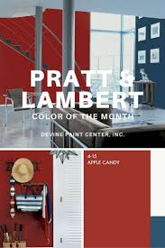 10 best lose yourself in reds images on pinterest paint colors pratt lambert s july 2016 color of the month apple candy was inspired by