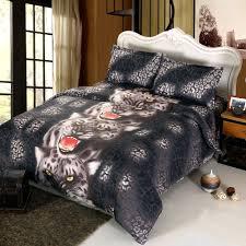 Duvet Cover Sales 4pcs 3d Printed Bedding Set Bedclothes Black Tiger Queen King