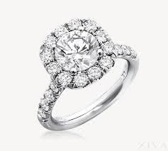 large engagement rings shaped halo diamond engagement ring