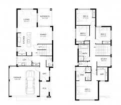 floor plans for two homes two storey house design with floor plan with elevation house