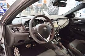 alfa romeo giulia interior alfa romeo giulietta veloce interior at 2016 bologna motor show