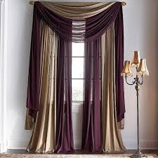 Best  Layered Curtains Ideas On Pinterest Window Curtains - Living room curtains design