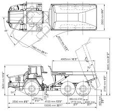car sow hm300 1 articulated dump truck specification