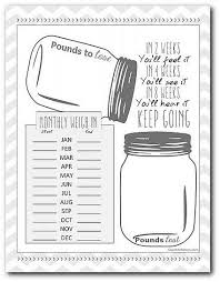 printable weight loss diet chart weight loss printable weight loss tracking sheet quit being fat