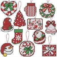ornaments cross stitch seasonal herrschners
