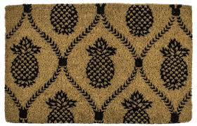 entryways williamsburg pineapple trellis doormat u0026 reviews wayfair