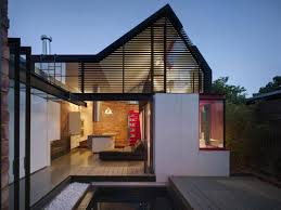 vader house victorian terrace features a modern framed steel