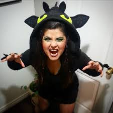 Toothless Costume Halloween 2015 U2013 Night Fury From How To Train Your Dragon