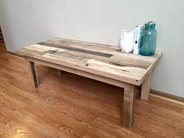 Pallet Coffee Tables Sectional Pallet Sofa With Coffee Table