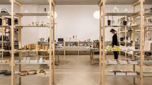 store interior design jasper morrison creates house like layout for tokyo s good design store