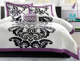 purple black and white bedroom awesome queen white bedroom set total fab purple black and white