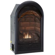 Dual Gas And Wood Burning Fireplace by Hearthsense Vent Free Fireplaces