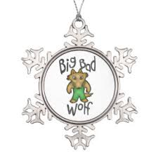 big bad wolf ornaments keepsake ornaments zazzle