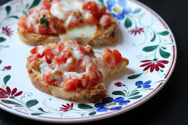 broiled bruschetta bruschetta with cheese