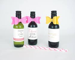 wine bottle bows 10 paper bows with rhinestone mini wine paper ribbon mini