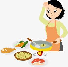 maman cuisine la cuisine de maman dessin peint à la cuisiner png et