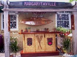 Best Pallet BBQ Bars And Tiki Bars Images On Pinterest - Tiki backyard designs
