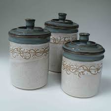pottery kitchen canisters 35 best pottery canister sets images on canister sets